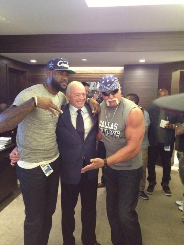 LeBron, Jerry and Hulk